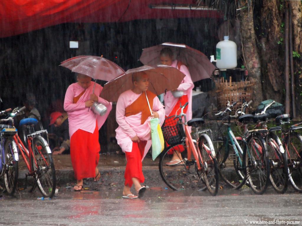 Rain in Yangon, Myanmar