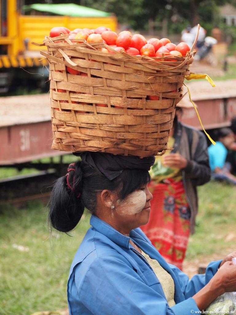 Aungban market, Kalaw