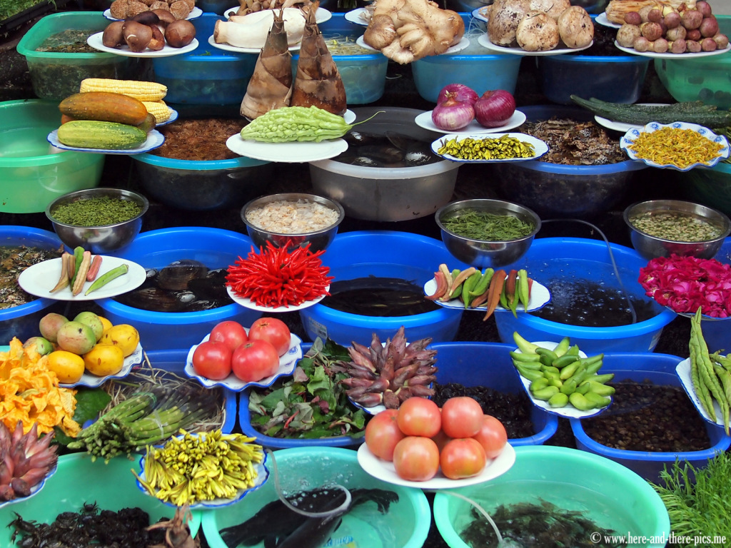 Food, fish and vegetables, shop