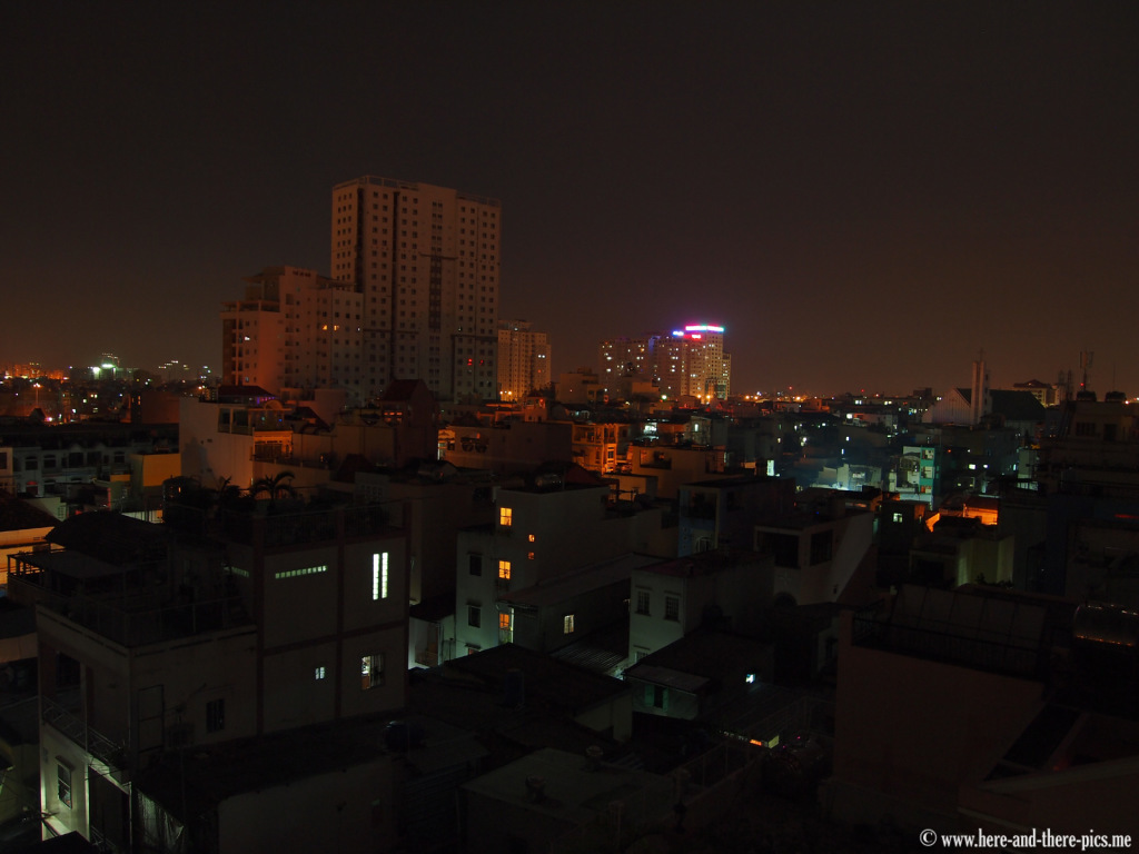 Ho Chi Minh city by night