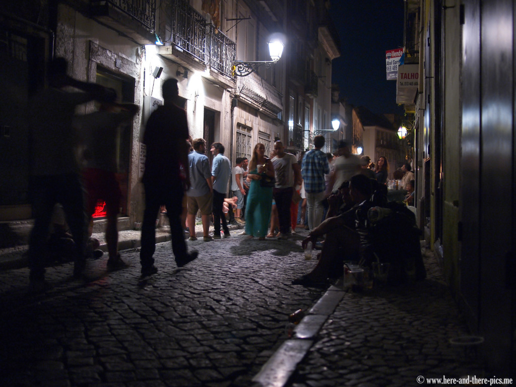 Lisbon by night, Portugal