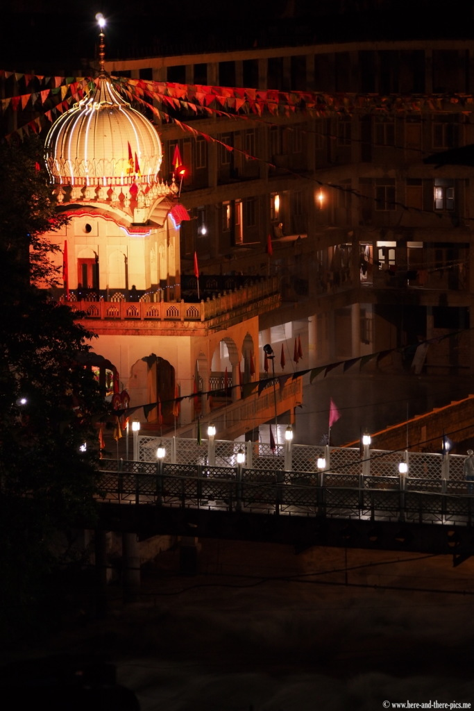 Sikh temple in Manikaran