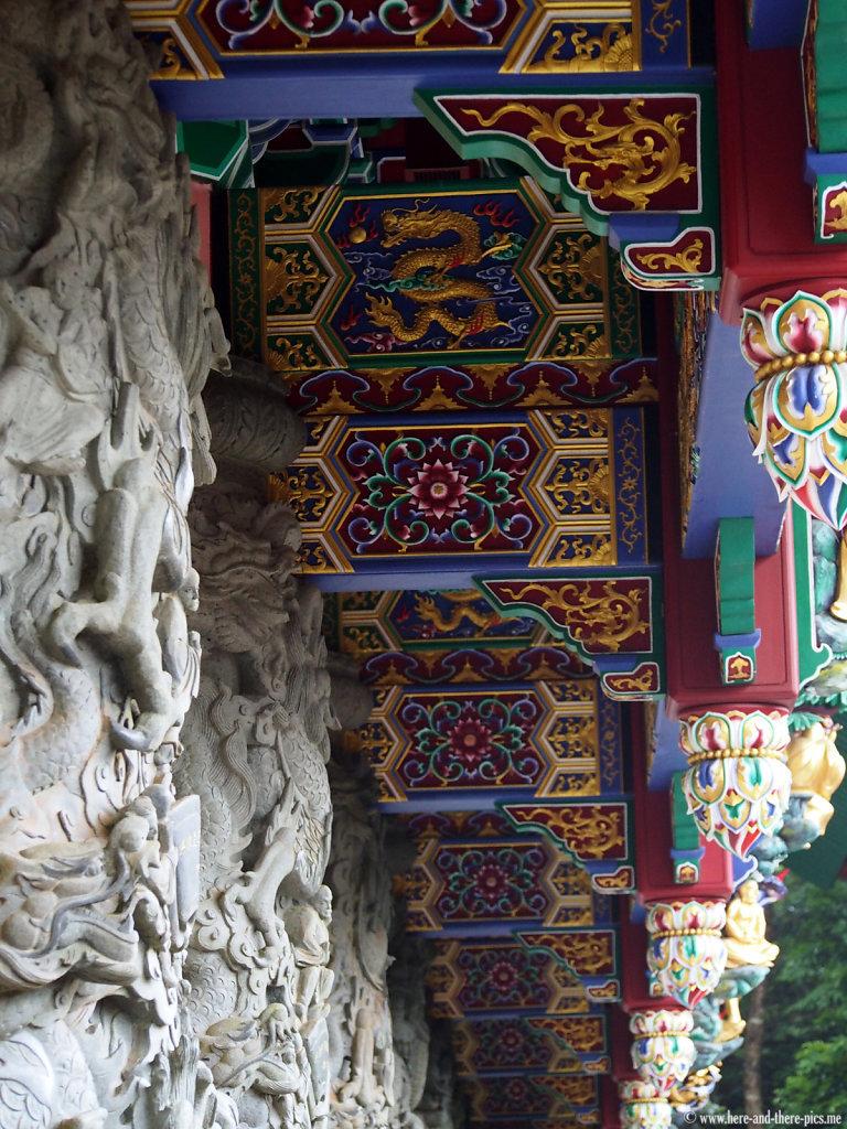 Po Lin monastery in Lantau, Hong Kong
